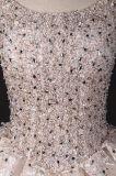 贅沢なCustomzieの重いビードの球の花嫁衣装のウェディングドレス