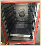 Plateaux du four 5 de vapeur de convection de chauffage au gaz pour le pain/gâteau/biscuits de traitement au four