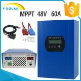 MPPT 12V/24V/48V 60A RS232 포트 태양 에너지 관제사 Smart1-60A