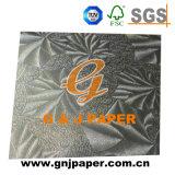 착색된 돋을새김된 알루미늄 호일 이동 포장 종이
