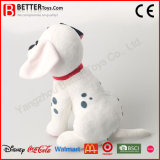 Perro de juguete dálmata suave de la felpa del animal relleno En71 para los cabritos