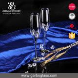 Vetro bevente di Luminarc 170ml Champagne con il gambo nero (C8716)