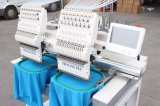 الصين متأخّر مزدوجة رؤوس غطاء تطريز آلات