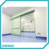 Puertas herméticas automáticas de ICU para el propósito de la tirantez del aire