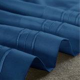 Insieme domestico all'ingrosso dell'assestamento del ricamo della tessile di Microfiber di colore solido dell'accumulazione dell'hotel