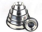 Ciotola dell'animale domestico dell'acciaio inossidabile, ciotole d'alimentazione del cucciolo del cane