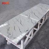 建築材料の人工的な石造りの固体表面の壁のクラッディング