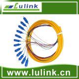 Tresse de fibre optique de faisceaux du fournisseur LC millimètre 6 d'usine