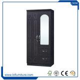 Erstklassiger Afrika klassischer Tür-Garderoben-Neowandschrank MDF-2