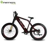 bicicleta de montanha elétrica do cruzador gordo da praia do pneu 750W