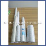Vela de filtro espiral de agua de la herida de los PP del algodón de la industria con 10 micrones