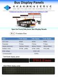 P12mm Affichage LED Bus Destination 7*80DOT