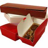 Candy el embalaje de cartón de 2 piezas Caja de papel con impresión a color