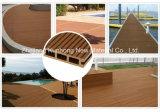 Impermeable al aire libre--Non-Capped o regulares de WPC pisos, revestimientos de materiales reciclados,