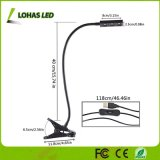 3 lampada della pianta della clip del LED 3W con un Goose-Neck di 360 gradi per la serra di giardinaggio delle piante d'appartamento idroponica