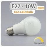 A60 Aluminiumplastikbirne 9W des gehäuse-E27 LED