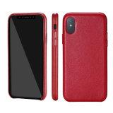 iPhone X革Filpのために電話は贅沢を薄く包装する