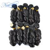 Оптовые перуанские свободные человеческие волосы девственницы скручиваемости в большом части