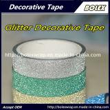 Los colores decorativos multifunción DIY Glitter Glitter cinta cinta adhesiva
