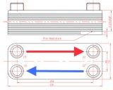 Intercambiador de calor de placas de Chiller Subcooler
