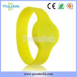 Braccialetto impermeabile del silicone del Wristband di RFID per controllo di accesso