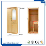 Il guardaroba del MDF progetta l'armadio di Cina poco costoso della fabbrica di Foshan della mobilia Almirah