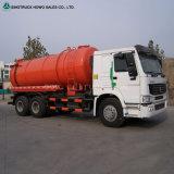 Camion d'aspiration d'eaux résiduaires d'eaux d'égout de vide à vendre