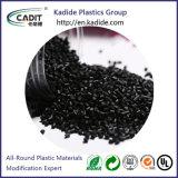 Alto colore nero soddisfatto Masterbatch della materia plastica per gli strati sporti