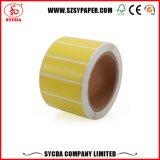 Térmica de etiquetas auto adhesivo con White Papel cristal Liner