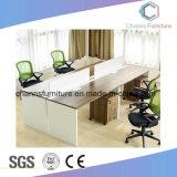나무로 되는 구조 서류 캐비넷 CAS-W1860를 가진 현대 중심 직원 테이블 사무실 워크 스테이션