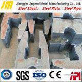 Découpage anormal de plaque d'acier doux de forme
