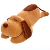 ある犬の柔らかい詰められた枕クッションのハンドメイドのプラシ天