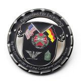 Поощрение дешевые новой модели марки черный эмаль металлические монеты обслуживания