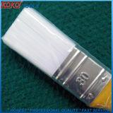 Fuerte cable de plástico blanco PP Mango de plástico de la limpieza de pinceles