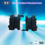 Soem-ODM-Roheisen-Maschinerie-Teile, die Präzisions-maschinell bearbeitenservice prägen und bohren