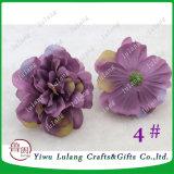 Parete del fiore che rende a 12cm le teste di fiore di seta della Rosa