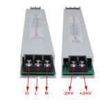 электропитание 24V 100W ультра тонкое СИД для светлой коробки
