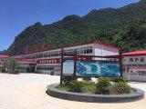 Het Modulaire Huis van de rode Kleur voor Leven van de Aanpassing Gebruikt in China