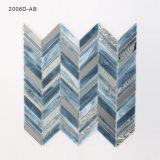Hauptdekoration-Wand-Farben-Glasmosaik-Fliese für Verkauf