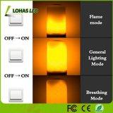5W E26 1300K a intermitência do LED da lâmpada da luz de chama para a decoração do Festival da Barra