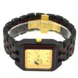 Commerce de gros de haute qualité du grain Lady Original montres en bois avec logo personnalisé