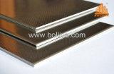 Feuille décorative d'intérieur interne intérieure extérieure externe extérieure de composé d'acier inoxydable