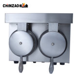 二重ヘッドステンレス鋼の産業円錐形のパン屋機械価格