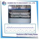 Toiture Layesr double rouleau automatique de machines de formage de métal ondulé et panneau de toiture profil trapézoïdal