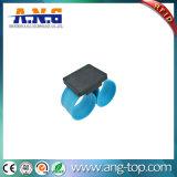 браслет шлепка силикона 13.56MHz голубой RFID NFC для деятельностей