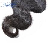 Оптовая торговля прав волосы вьются Cuticle Реми Virgin бразильский волос человека
