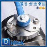 Válvula de esfera de alta pressão da flutuação do aço inoxidável F51 de Didtek
