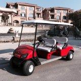 Mini 4-местный электрического поля для гольфа тележки на полдня