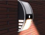 2PCS LEDS LED Sensor de movimiento de pared de luz solar