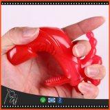 Accessorio anale della spina di tatto regolare di tocco per il giocattolo anale del sesso della spina di estremità dei branelli del pene di falsificazione del Dildo del giocattolo del sesso della macchina del sesso per le donne
